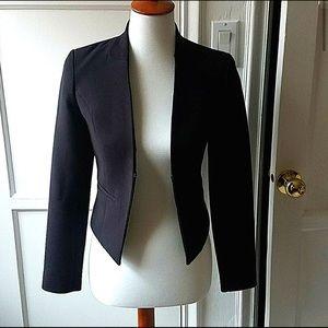 H&M notched collar black blazer